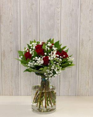 Μπουκέτο με 11 τριαντάφυλλα